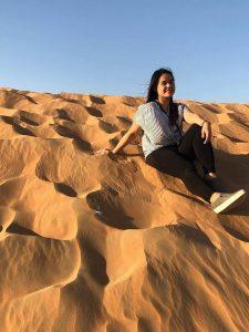 Christina Mariano Desert