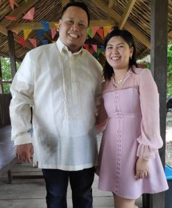 Daniel Delima with his Wife
